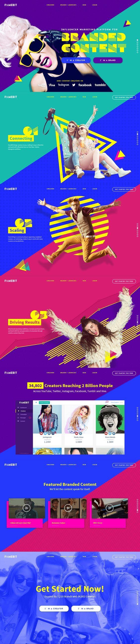 famebit-1@黑眼豆豆12采集到专题设计(126图)_花瓣: