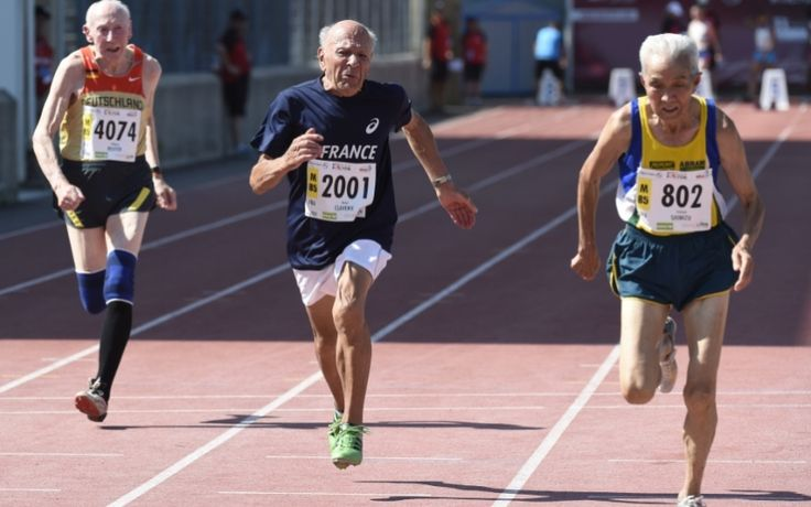 Photographer Alex Rotas decided to document the athletic achievements of   people over the age of 60 - with extraordinary results