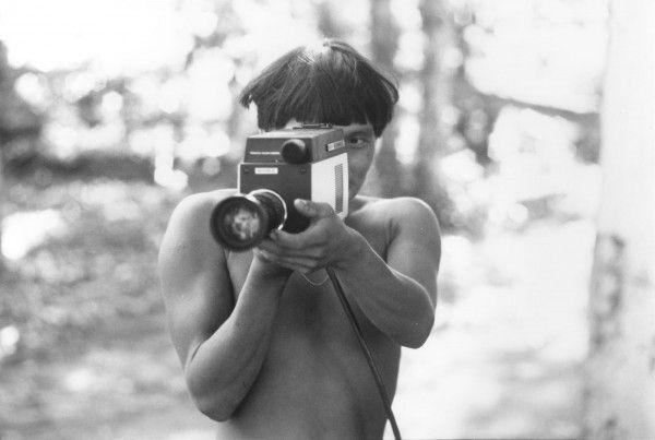 Juan Downey, Sin título, 1977. Fotografía en blanco y negro. Colección de Marilys Belt de Downey, Nueva York