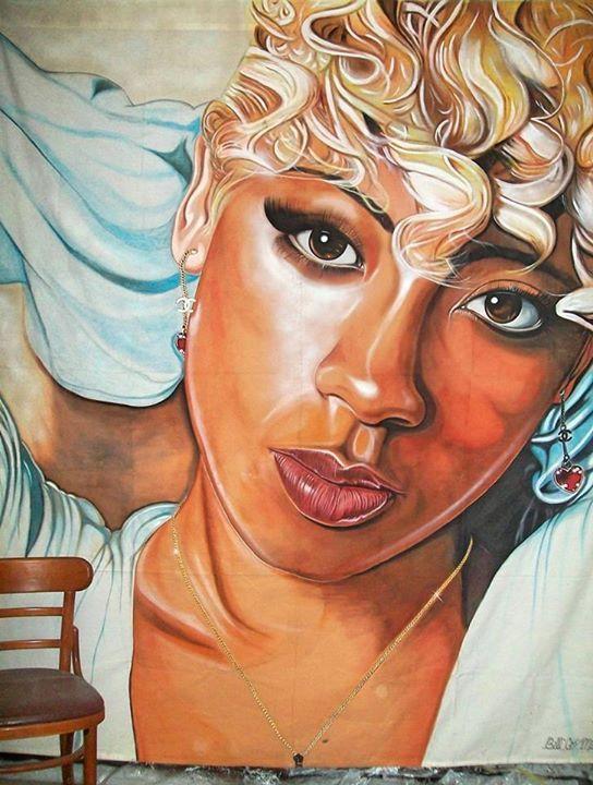 Black Women Art! – Keyshia Cole by Bill Miller