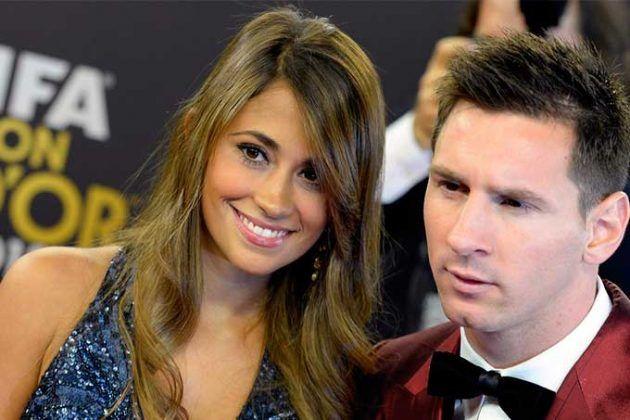 """¿Buscando la niña? Messi y Antonella """"embarazados"""" por tercera vez"""