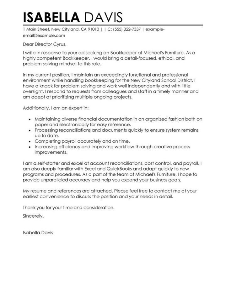 perfect cover letter template - Perfect Cover Letter For Job Application