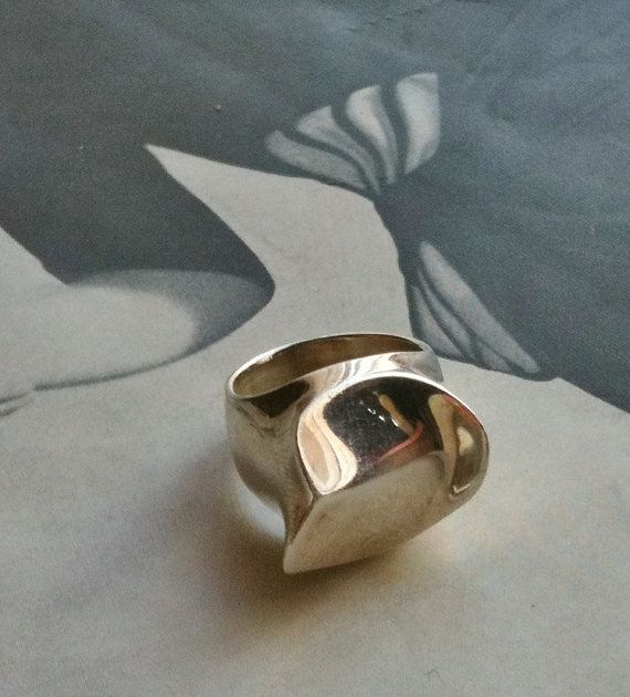 Vintage Sterling Art Deco Ring by Gregarianne on by Gregarianne, $135.00