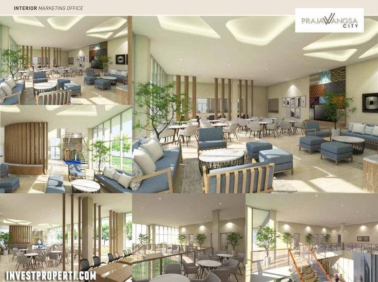 Interior Design Kantor Marketing Prajawangsa City