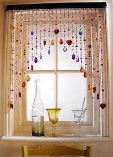 Michart: Beaded Curtains