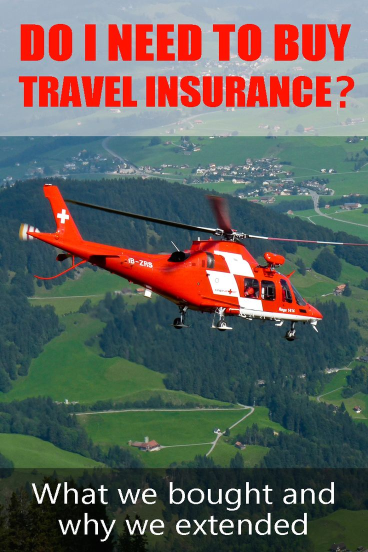When planning a trip around the world or just a short holiday, travel insurance is something to think about too.
