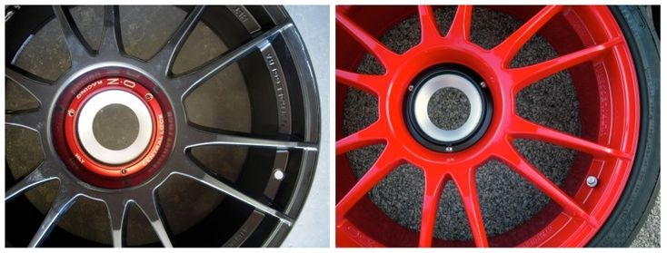 Motorcycle Wheels Powder Coating Prices