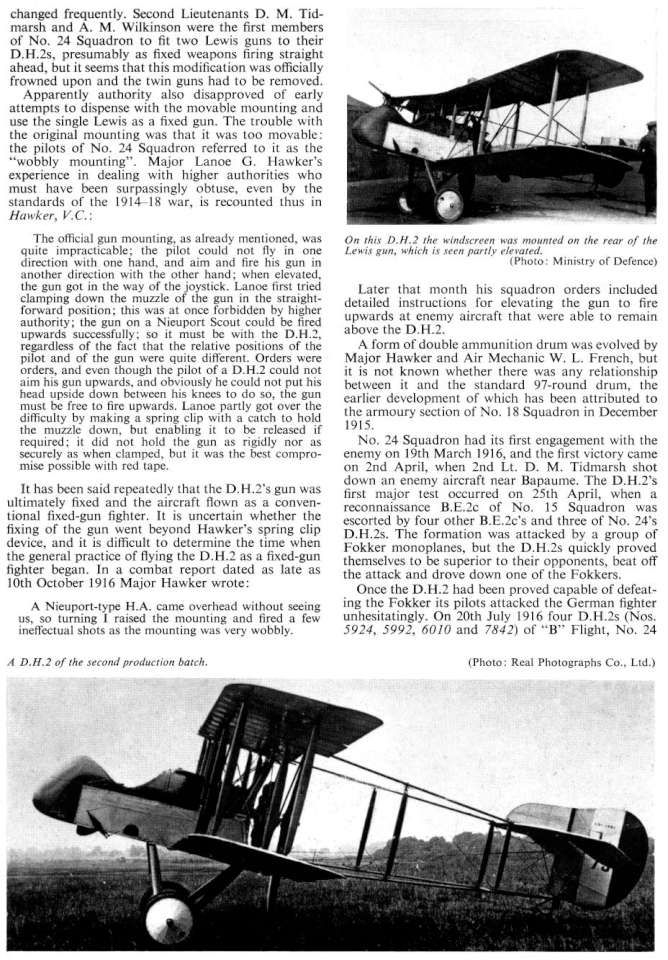 De Havilland DH2 (91) Page 07-960