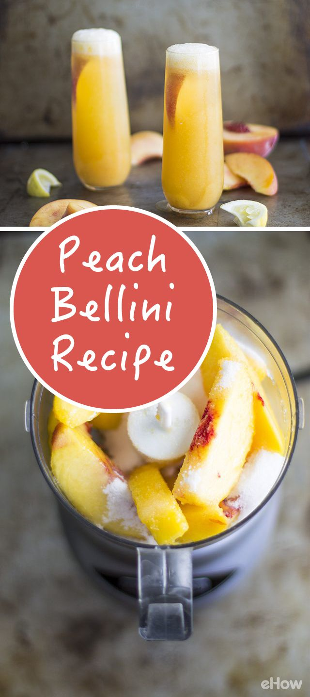 The ultimate, refreshing peach bellini recipe! http://www.ehow.com/how_4447962_peach-bellini-recipe.html?utm_source=pinterest.com&utm_medium=referral&utm_content=freestyle&utm_campaign=fanpage