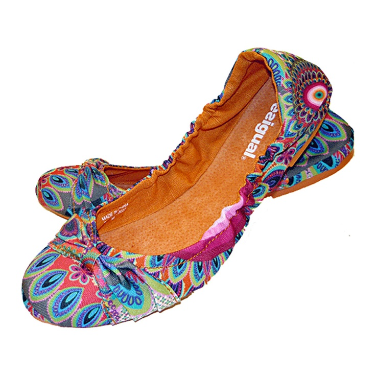 Six Donna ballerina shoes from Desigual