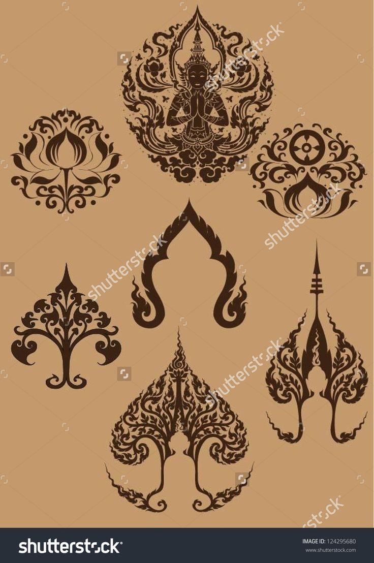 asian and thai decorative symbols - Google Search