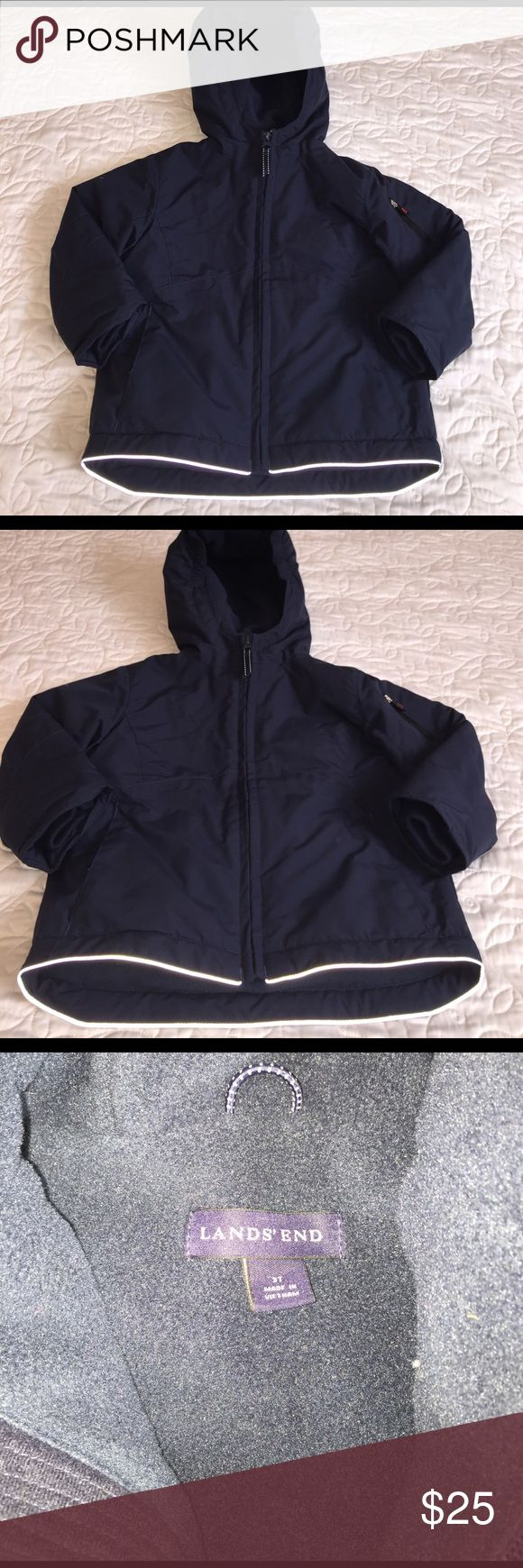 Lands end Kids windbreaker Mint condition no stains or tears Lands' End Jackets & Coats