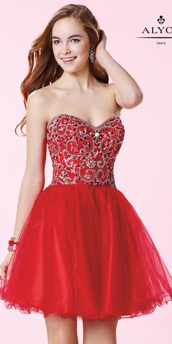 Semi-Formal Dress Red Tutu