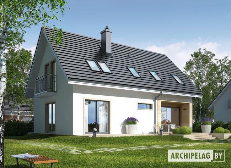 Проекты домов Archipelag: Е2 II ЭКОНОМ (вариант Б) - описание - Archipelag