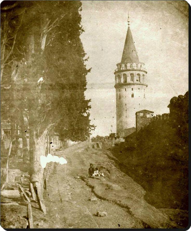 Galata Kulesi - 1854
