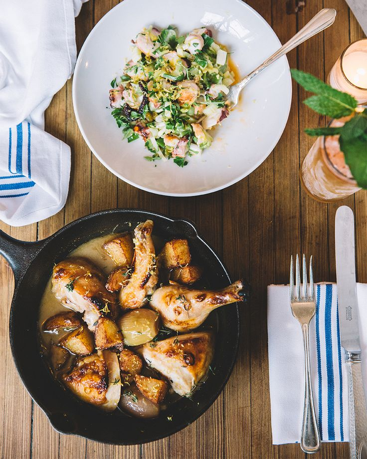 The Cast Iron Chicken from Vinegar Hill House #Brooklyn #DUMBO #LoveMyCity Photograph by Kate Edwards