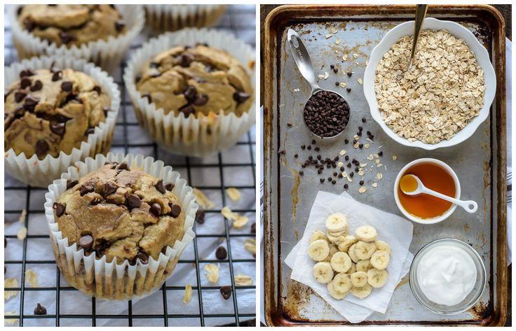 Banánovo-jogurtové muffiny bez múky a cukru