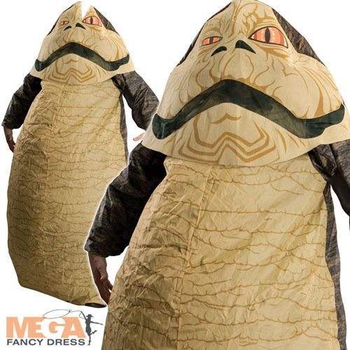 Jabba the Hutt Star Wars Men's Fancy Dress Inflatable Adult Costume Outfit New | eBay