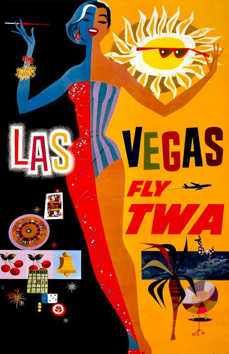Poster design 60s - Twa Poster 1960s