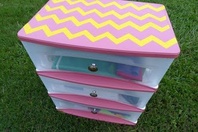 129 best images about painted plastic on pinterest for Painting plastic bins