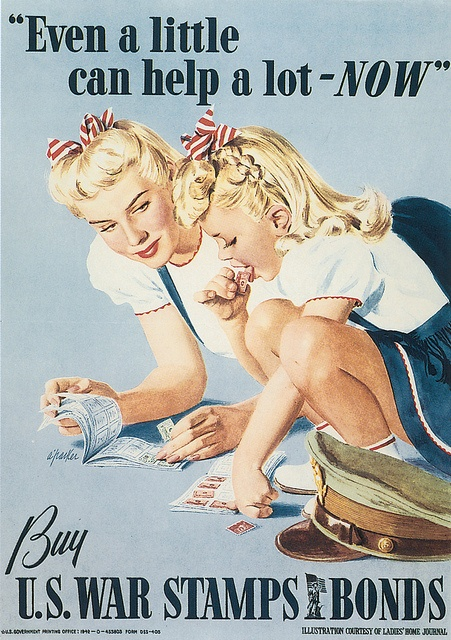 Even a Little Can Help a Lot - NOW by A. Parker (US, 1942)