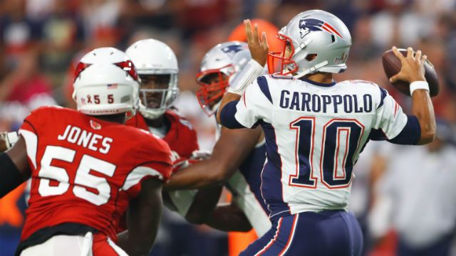 Patriots Vs. Cardinals Live: Jimmy Garoppolo Pats Hold Off Arizona In 23-21 Thriller