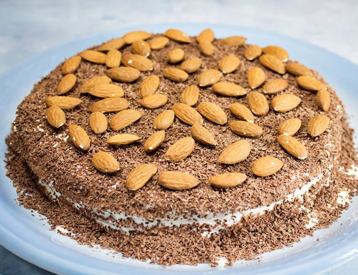 Сметанный торт на сковороде | Торт без духовки | Торт без выпечки | Торт...