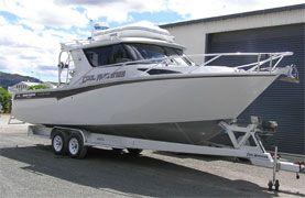 1050 Custom Cruiser - White Pointer Boats : custom alloy boat builders, aluminium boats, fishing boats, aluminum boats, boat designers, boat repair, boat sales, new boats, used boats