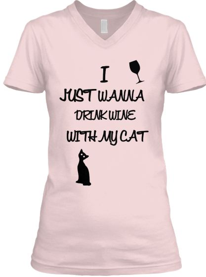 DRINK WITH CAT | Teespring