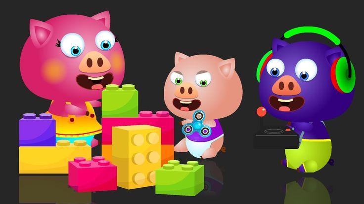 Gummy Pigs LolliPop Game - Lollipop Finger Family Song - Nursery Rhymes ...
