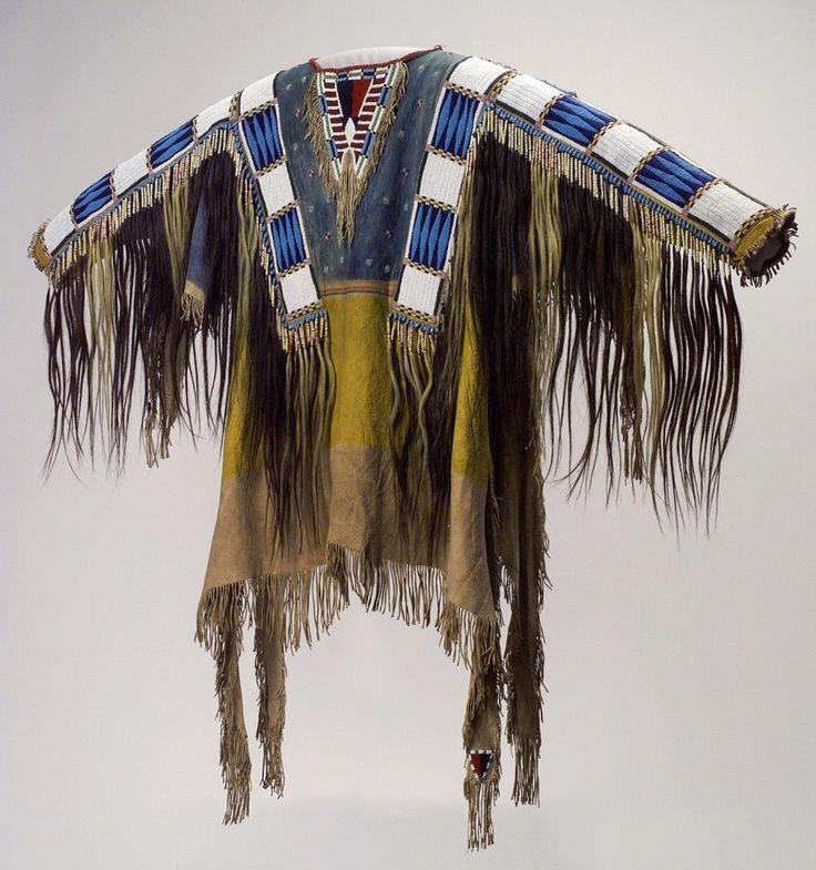 Man's Shirt, Oglala Lakota (Teton Sioux) artists, South Dakota, 1865