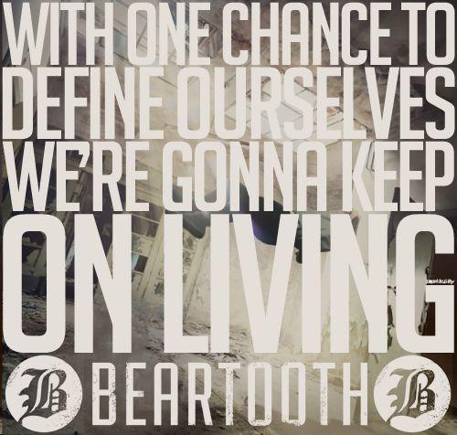 """Beartooth """"Beaten in Lips"""" lyrics"""