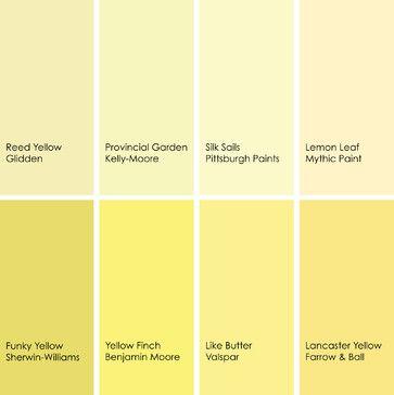 Colors Of Yellow 17 best yellow paint colors images on pinterest | color paints