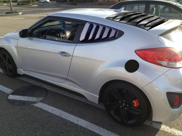 Veloster louvers hmmmm is this real or fake? If real I need to know where to buy them ...