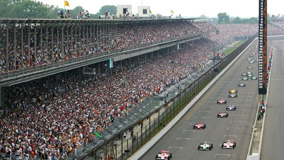 There is nothing like Indy during the month of May! My only complaint is they have done a way with to many of the traditions and then need to return to them.