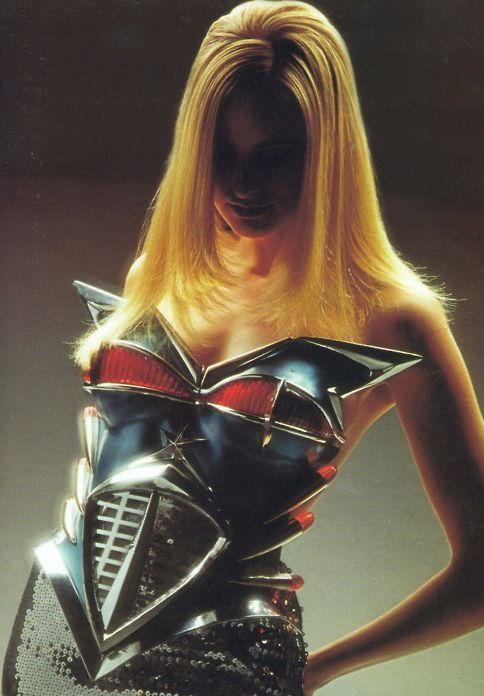 1989-90 - Thierry Mugler 'Cadillac' corset by Dominique Isserman