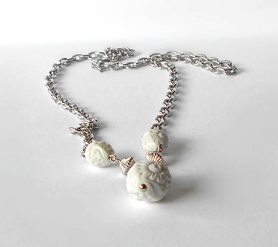 59 best sarah coventry images on pinterest independent business inventory reduction vintage sarah coventry necklace summer flirt white silver tone nos garagapalooza aloadofball Images