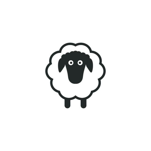 Sheep Logo Template Sheep Clipart Black And White Sheep Icon Png And Vector With Transparent Background For Free Download Sheep Logo Sheep Template Sheep Silhouette
