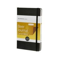 Don't forget all those delicious beers you try ever again - keep a record in this handy Moleskine Beer Journal
