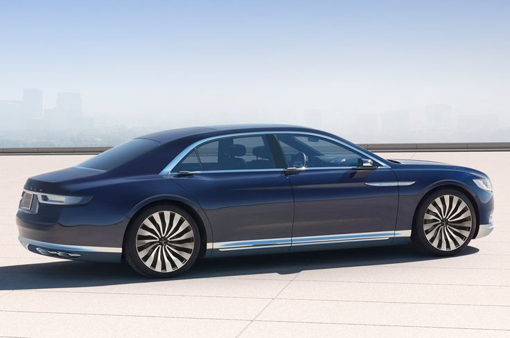 Lincoln Continental Concept First Look