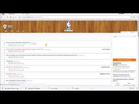 how to watch nba playoff games for free