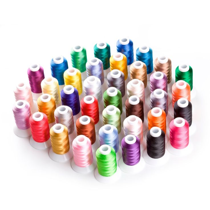 40 Brother Colors Polyester Computer Machine Embroidery Thread For Brother Janome etc 500m*40 / Kit-in Thread from Home & Garden on Aliexpress.com | Alibaba Group