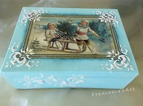 Ξύλινο κουτί https://www.facebook.com/pages/Francescas-Art/347467208699516