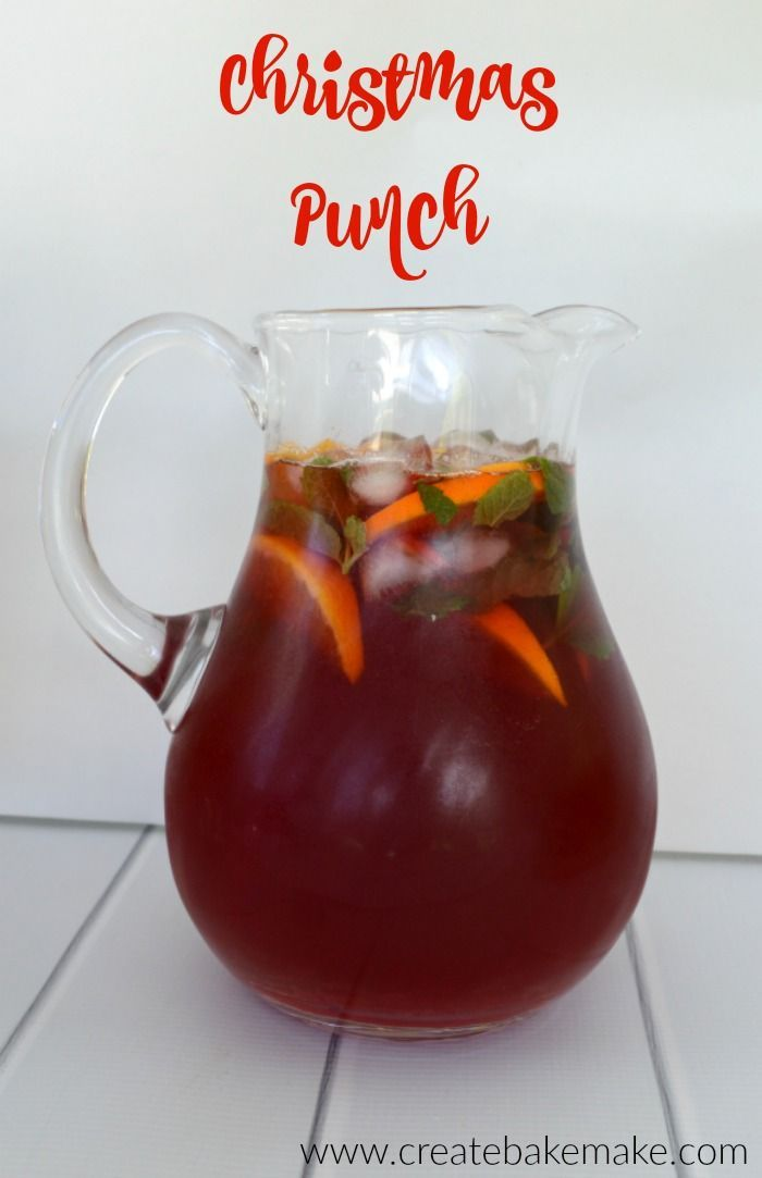 Easy punch recipes for christmas party