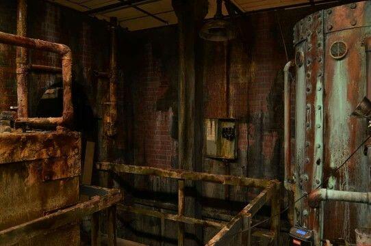 Haunted House Boiler Room Detail Haunt Inspiration