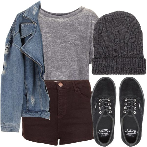 Vans by feathersandroses on Polyvore featuring Topshop and Vans