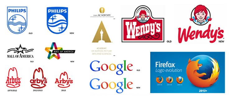 The top 10 most successful logo redesigns of 2013 | StockLogos.com #logo #branding