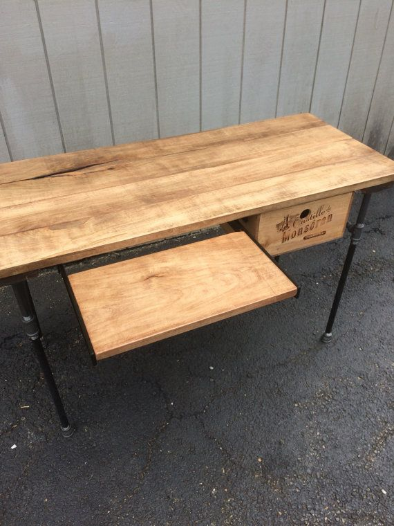 sturdy statements reclaimed wood desk with