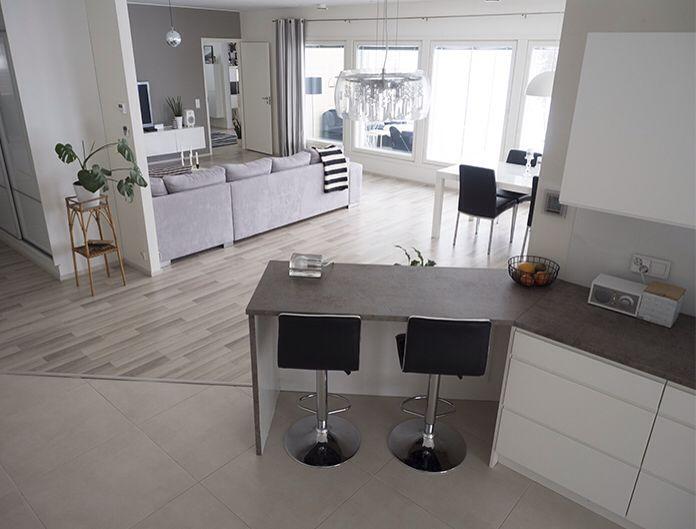 Livingroom and kitchen (syhina.blogspot.fi)