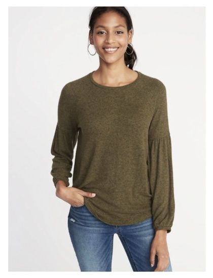 5639996bc78 Love this olive green knit. Awesome for layering and the color is perfect  for fall!  ShopStyle  shopthelook  MyShopStyle  OOTD